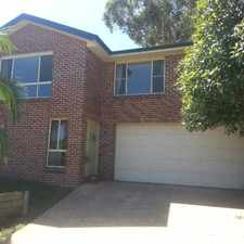 Rental info for 3 BEDROOM TOWNHOUSE IN QUIET LOCATION in the Glenning Valley area