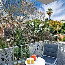 Rental info for PERFECT, QUIET OASIS WITH BALCONY in the Sydney area