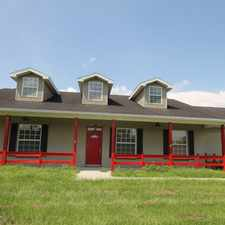 Rental info for Beautiful 3/2 home loaded with upgrades on 6.54 acres with a huge 7 stall barn & tack room. Located 4 minutes from I-4.
