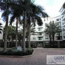 Rental info for LAUDERDALE ONE