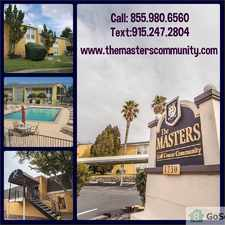 Rental info for PRE LEASE YOU NEW HOME 1X1 TODAY!! in the El Paso area