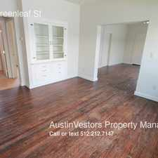 Rental info for 104 N Greenleaf St