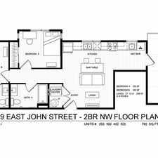 Rental info for 309 E. John