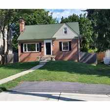 Rental info for Excellent Schools NIH, USUHS, NNMC, WRAMC 3 Br 2.5 in the Wheaton area