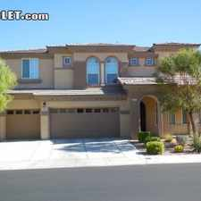 Rental info for Five+ Bedroom In Southwest Las Vegas in the Enterprise area