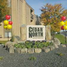 Rental info for Cedar North Apartments in the Richland area