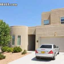 Rental info for Two Bedroom In Albuquerque in the Taylor Ranch area