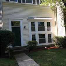 Rental info for nice spacious townhouse North Potomac Gaithersburg in the North Potomac area