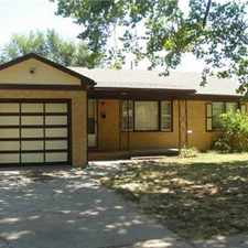 Rental info for 3 Bedroom House NW Wichita in the Sunflower area