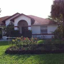 Rental info for Lovely 3 Bedroom Home in Seminole Woods