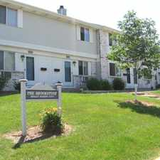 Rental info for Brookstone Townhomes in the Madison area