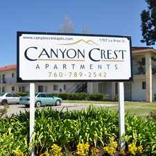 Rental info for Canyon Crest