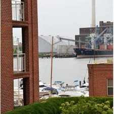 Rental info for 1 BR 1 1/2 BA FELLS PT CONDO w/PARKING INCLUDED in the Baltimore area
