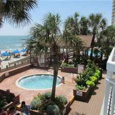 Rental info for Oceanfront condo mrytle beach/garden city sleeps 6