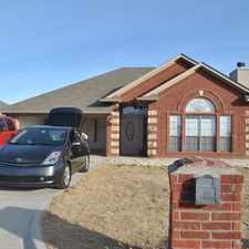 Rental info for Great home in Cache, OK. Pets negotiable with owner approval