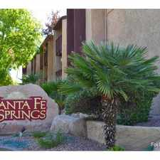 Rental info for Santa Fe Springs