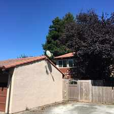 Rental info for Modern 2 story home with fenced back patio.
