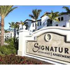 Rental info for Signature at Kendall