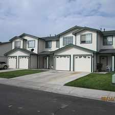Rental info for Two Story townhome in the Sutro area.Close to shopping and schools.