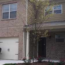 Rental info for NEW CONTRUCTION - Lovely Townhome in Centennial Lakes Subdivision!