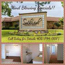 Rental info for Southwinds in the 73160 area