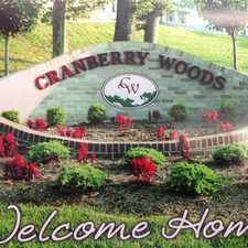 Rental info for Cranberry Woods Townhomes