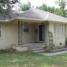 Rental info for VILLAGE,3 BED 1 BATH 2 LIVING in the 73162 area