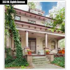 Rental info for 353 W Eighth Ave in the Necko area