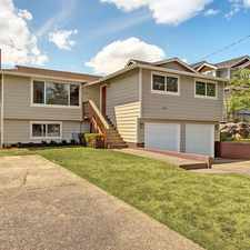 Rental info for Remodeled - Large Lot Seward Park Home - Near All in the Seattle area