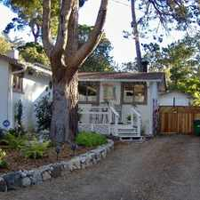 Rental info for One bedroom house downtown Carmel