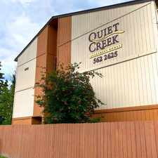 Rental info for Quiet Creek Apartment Homes in the Anchorage area
