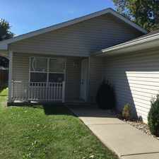Rental info for Two Bedroom/Two Bathroom duplex with attached garage in Marion, IL