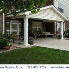 Rental info for WYNDAM PLACE SENIOR RESIDENCE IN HAYS KANSAS - WELCOME HOME!
