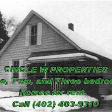 Rental info for One, Two, And Three Bedroom Homes For Rent
