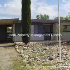 Rental info for 6042 E. 34th St. in the Tucson area