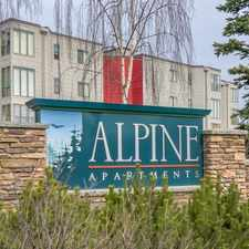 Rental info for Alpine Apartments in the Anchorage area