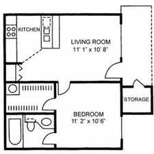 Rental info for The Woods Apartments