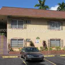 Rental info for AVAILABLE NOW! - Furnished Micro Apartment in Downtown Fort Lauderdale! Electricity and water included. in the Fort Lauderdale area