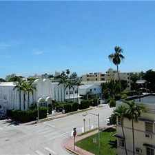 Rental info for LIVE IN THE HEART OF SOUTH BEACH! 1/1.5 Gated! in the Downtown area