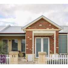 Rental info for One of the most attractive cottage homes available in Ellenbrook's Charlottes estate