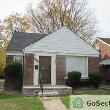 Rental info for Classic Brick Bungalow Home in the Grandmont area