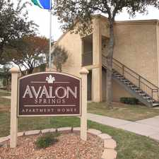 Rental info for Avalon Springs Apartment Homes in the Midland area