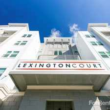 Rental info for Lexington Court