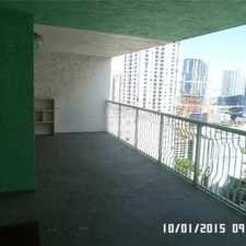 Rental info for 1200 Brickell Bay Drive #3312