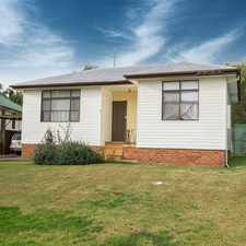 Rental info for 63 ESSEX STREET, BERKELEY in the Wollongong area