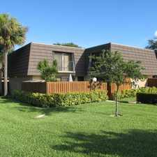 Rental info for 2115 21st Court #C in the Jupiter area