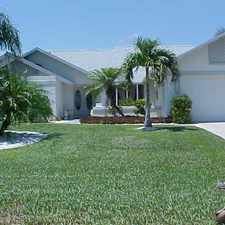 Rental info for 1111 SE 36th Terrace in the Cape Coral area