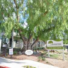 Rental info for Peppertree Senior Apartments in the San Diego area