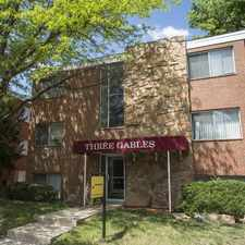 Rental info for Three Gables in the University area