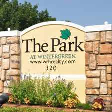 Rental info for The Park at Wintergreen